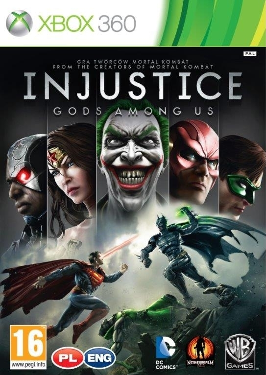 Injustice Gods Among Us ANG / PL (Xbox 360)